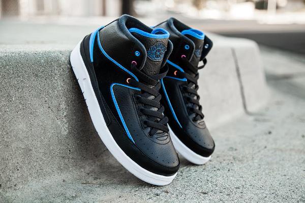 Nike Air Jordan 2 Retro Photo Blue Radio Raheem pas cher (11)
