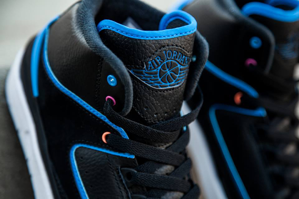 Nike Air Jordan 2 Retro Photo Blue Radio Raheem pas cher (2)