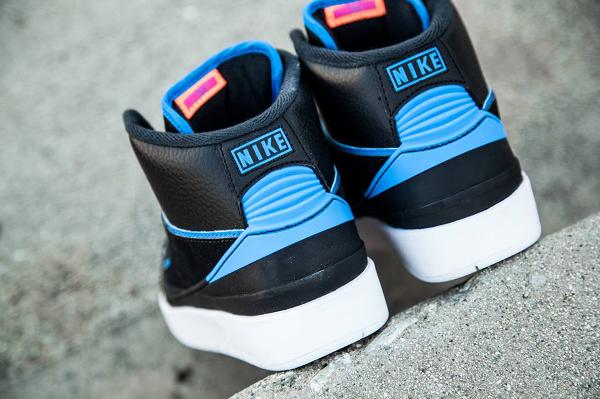 Nike Air Jordan 2 Retro Photo Blue Radio Raheem pas cher (3)