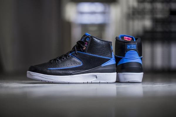 Nike Air Jordan 2 Retro Photo Blue Radio Raheem pas cher (4)