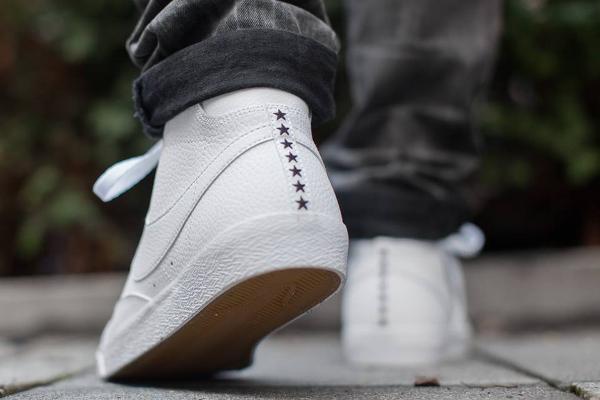 f93370e070 Nike Blazer Mid Premium Vintage Leather White Gum (Star Pack) pas cher (4