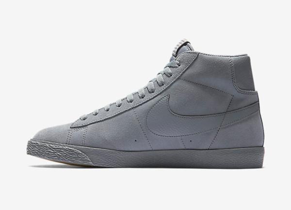 efbca77e90 Nike Blazer Mid Premium Vintage Suede Cool Grey Gum (Star Pack) pas cher (
