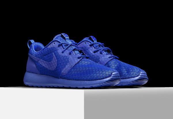 Nike Roshe One Hyperfuse bleue (Racer Blue) (1)