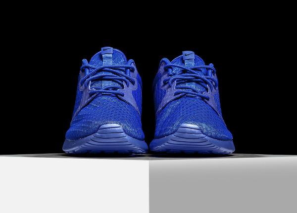 Nike Roshe One Hyperfuse bleue (Racer Blue) (2)