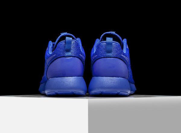 Nike Roshe One Hyperfuse bleue (Racer Blue) (3)