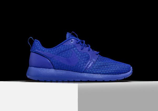 Nike Roshe One Hyperfuse bleue (Racer Blue) (4)