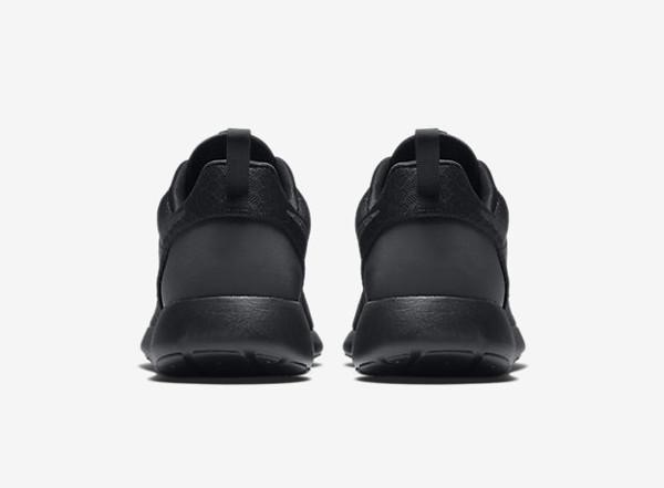 Nike Roshe One Hyperfuse noire Black pas cher (6)