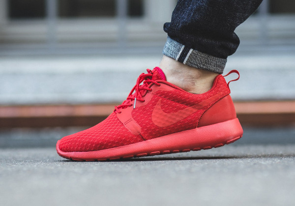 Nike Roshe One Hyperfuse rouge (University Red) (1)