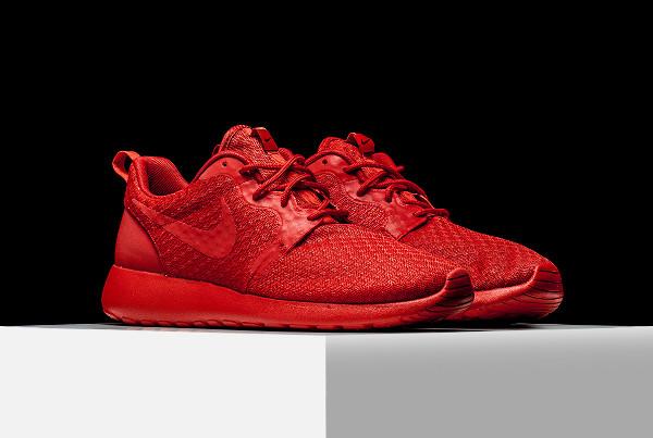 Nike Roshe One Hyperfuse rouge (University Red) (3)