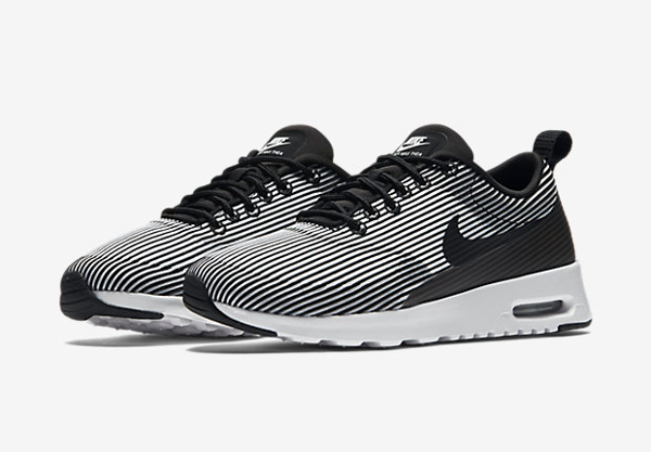 Nike Wmns Air Max Thea KJCRD Black White (1)