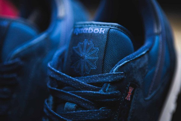 Reebok Classic Leather NP Tonal Navy Blue pas cher (3)