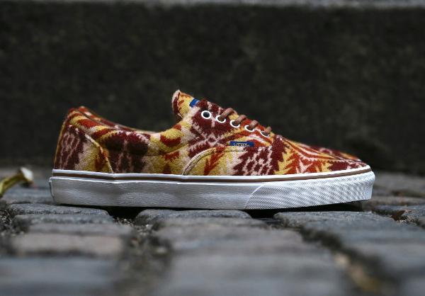 chaussure Vans Era en laine Pendleton Tribal Tan (2)