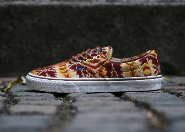 chaussure Vans Era en laine Pendleton Tribal Tan (3)
