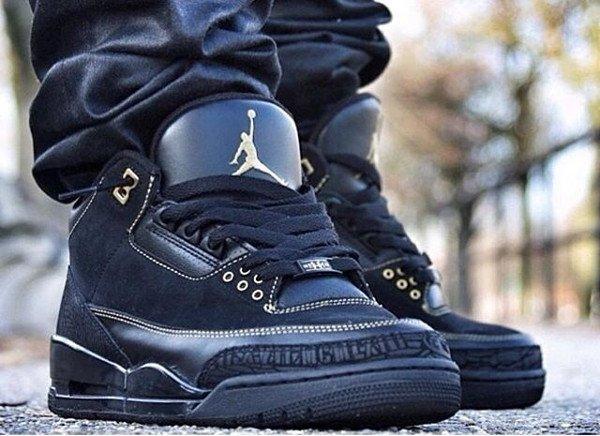 3 Air Jordan 3 BHM - @alvin_sole_23