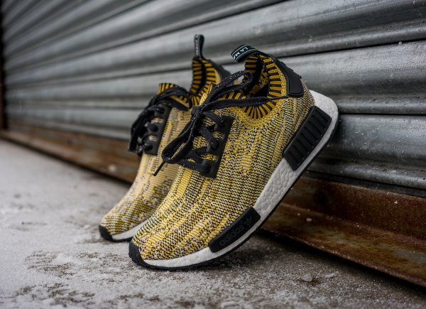 Adidas NMD Runner Primeknit 'Nomad Yellow Camo'