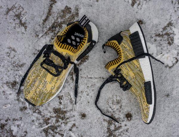 Adidas NMD Runner Primeknit Nomad Yellow Camo (2)