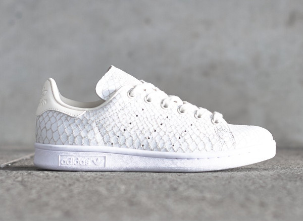 stan smith croco Blanc