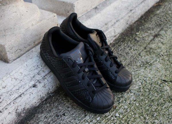 adidas superstar w noir femme