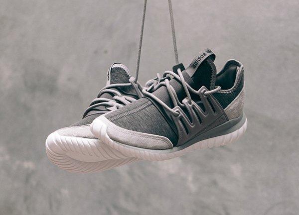 726f5c972dd Adidas Tubular Radial Solid Grey Granite (1)