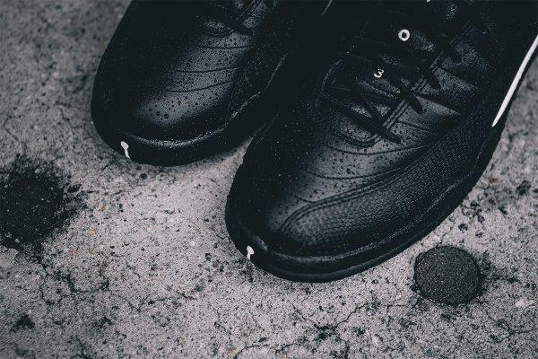 Air Jordan 12 Retro Black Metallic Gold (11)