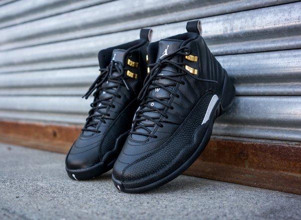 Air Jordan 12 Retro Black Metallic Gold (2)