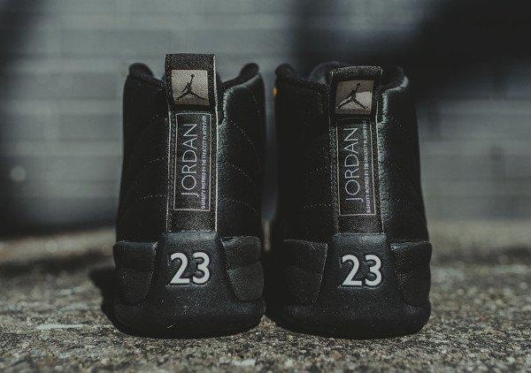 Air Jordan 12 Retro Black Metallic Gold (3)