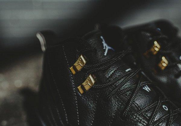 Air Jordan 12 Retro Black Metallic Gold (4)