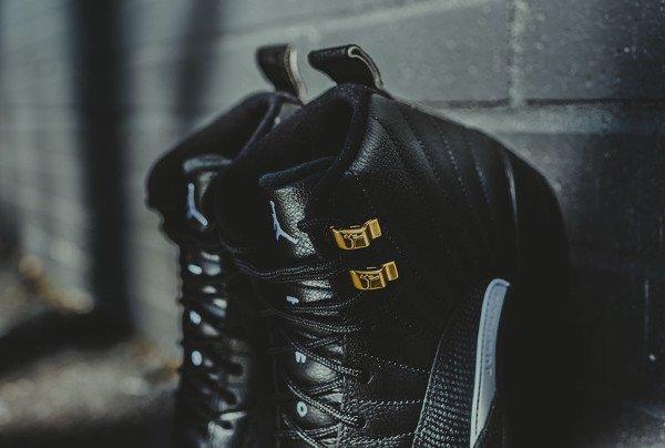 Air Jordan 12 Retro Black Metallic Gold (7)