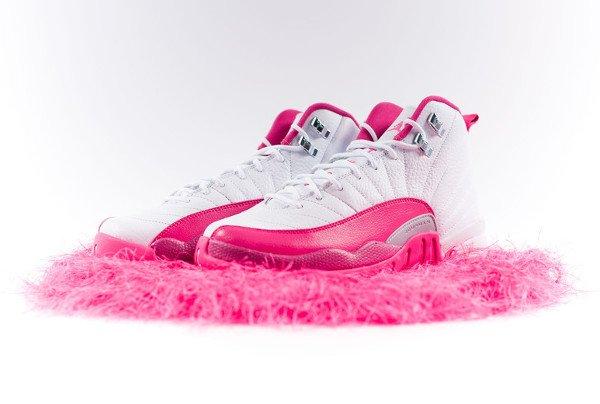 Air Jordan 12 Vivid Pink
