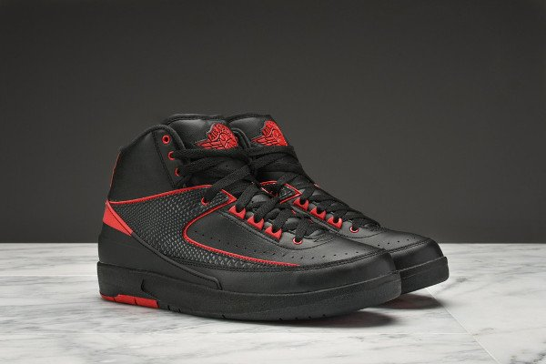 Air Jordan 2 Retro Breds Alternate 87 pas cher (3)