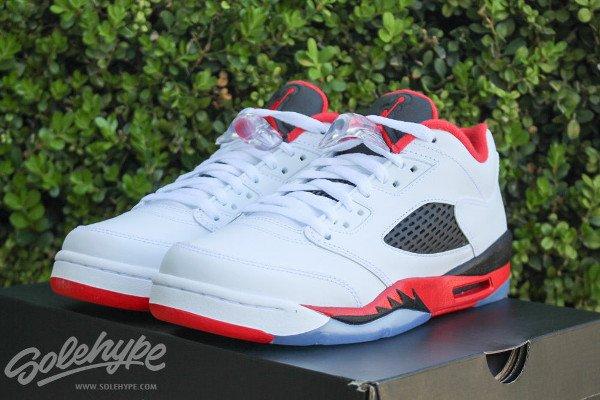 Air Jordan 5 Low Fire Red
