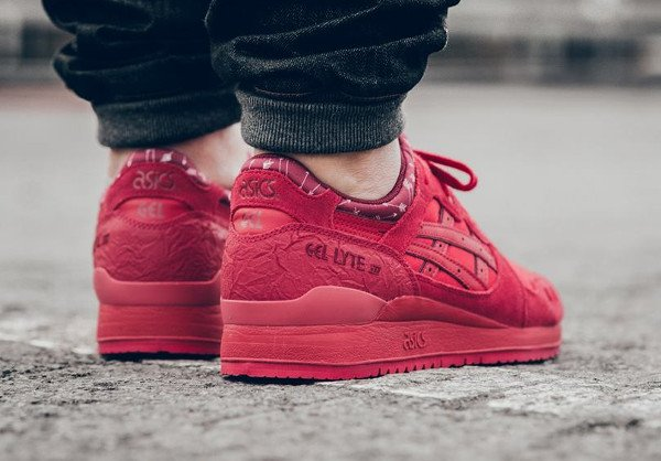 Asics Gel Lyte 3 Red Valentine s Day 2016 pas cher (2)