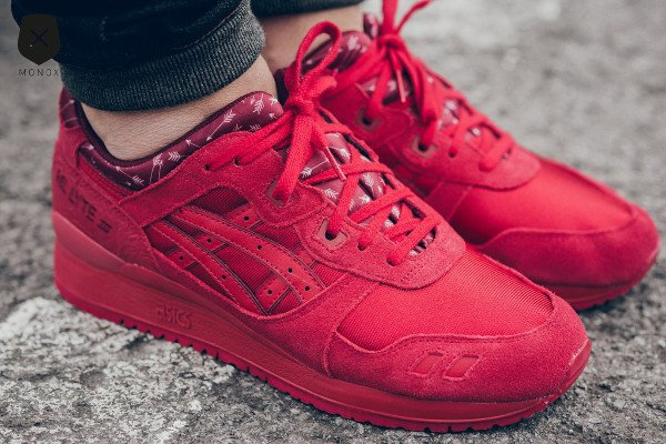 Asics Gel Lyte 3 Red Valentine s Day 2016 pas cher (3)