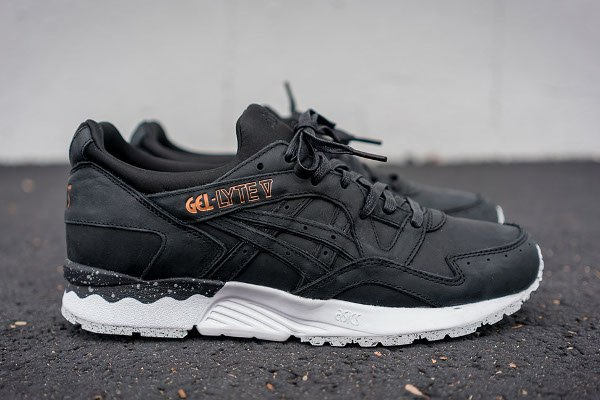 Asics Gel Lyte V Rose Gold Black (1)