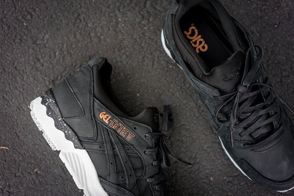 Asics Gel Lyte V Rose Gold Black (5)