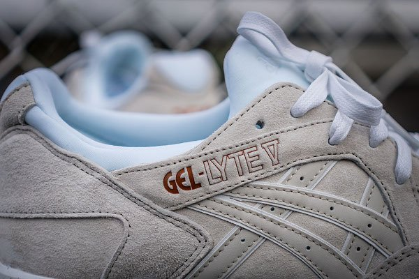 Asics Gel Lyte V Rose Gold White (5)