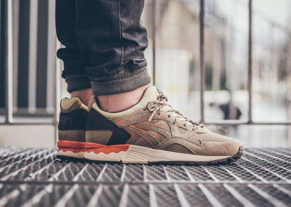 Asics Gel Lyte V Scorpion Light Olive pas cher (1)