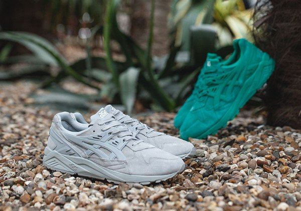 Asics Tiger Gel Kayano 'Light Grey & Spectra Green'