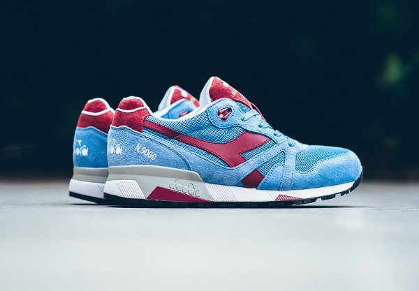 Diadora N9000 Silver Lake Blue Tibetan (Made in Italy) (1)