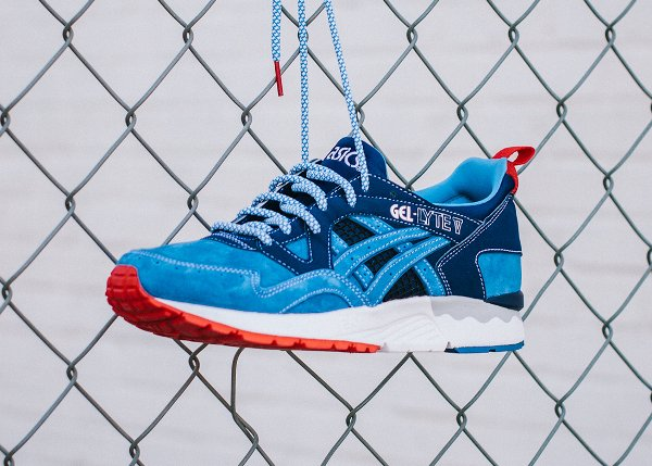 Mita Sneakers x Asics Gel Lyte 5 Blue Navy (1)