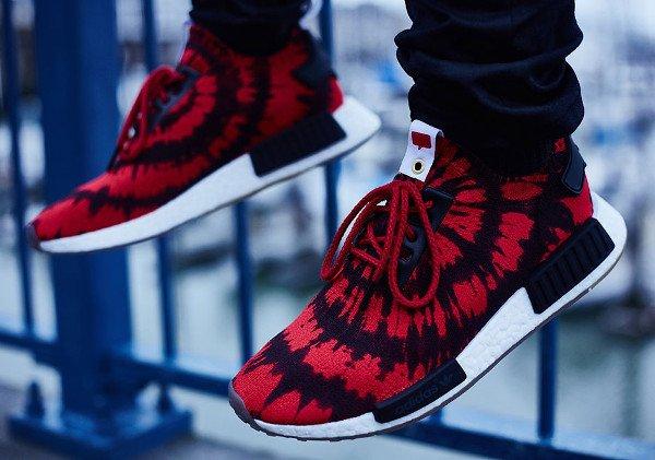 Nice Kicks x Adidas Consortium NMD Runner Primeknit 'Red & Black'