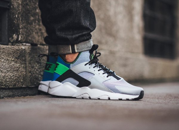 Nike Air Huarache Run Ultra OG Scream Green pas cher (1)