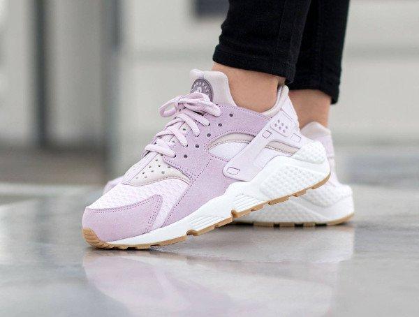 Nike Air Huarache TXT Bleached Lilac pour femme pas cher (1)