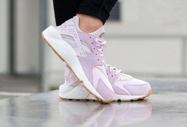 Nike Air Huarache TXT Bleached Lilac pour femme pas cher (4)