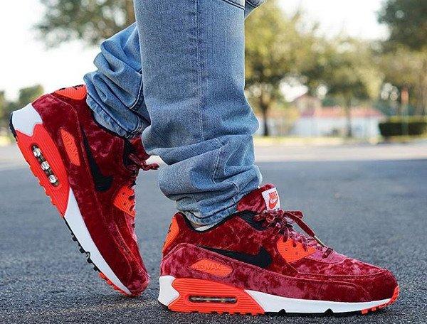 Nike Air Max 90 Red Velvet - @@pr_sneaks23 (1)