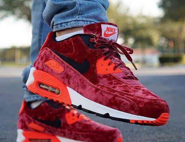 Nike Air Max 90 Red Velvet - @@pr_sneaks23