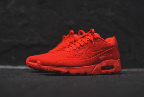Où acheter la Nike Air Max 90 Ultra Moire Bright Crimson ?