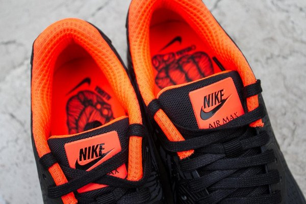 newest e73c7 b1aea Nike Air Max 90 Ultra Moire FB Black Anthracite Total Crimson (3)