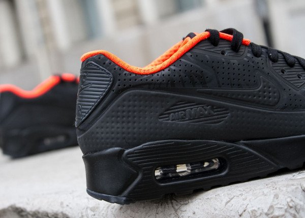 Nike Air Max 90 Ultra Moire FB Black Anthracite Total Crimson (5)
