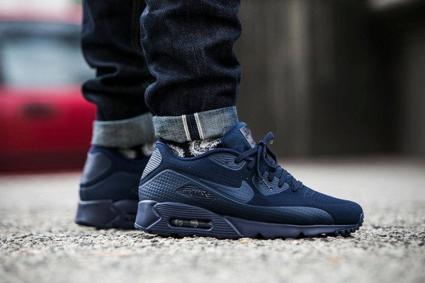 Nike Air Max 90 Ultra Moire Midnight Navy pas cher (1)
